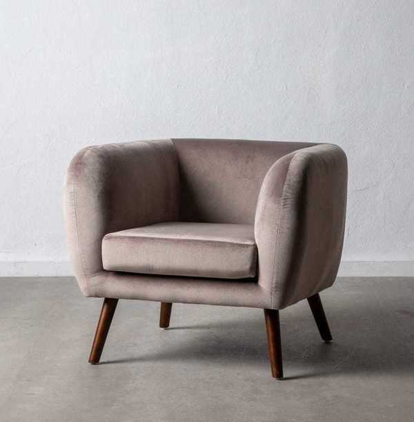 Fauteuil Velours OLD