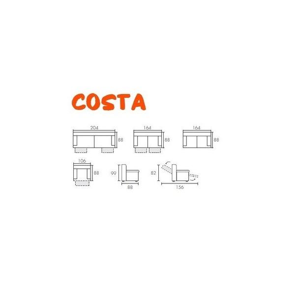Canapé COSTA