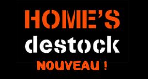 Votre site web Home's Destock fait peau neuve !